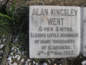 19- WENT  ALAN  KINGSLEY