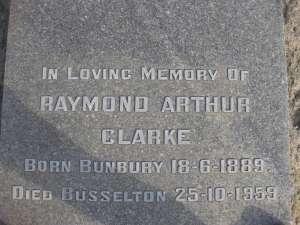 22- CLARKE  RAYMOND  ARTHUR