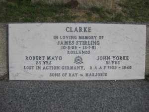 23A  23B - CLARKE    ROBERT  MAYO  JOHN  YORKE