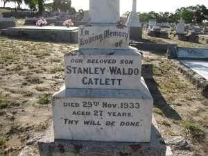 30-  CATLETT  STANLEY  WALDO