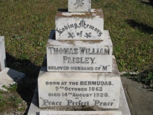 11- PAISLEY  THOMAS  WILLIAM