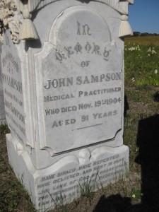 14- SAMPSON  DR. JOHN