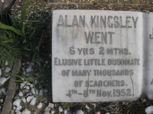 19- WENT  ALAN  KINGSLEY