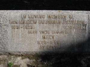 27- BUCHANAN  REV.  ANDREW